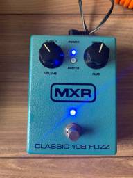 Fuzz - classic fuzz 108 - MXR - com booster