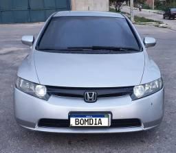 Honda Civic ano 2008 LXS Flex automático