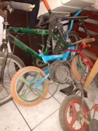 Bicicletas sucata (todas)