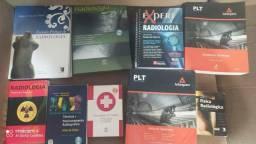 Livros de Anatomia e Radiologia