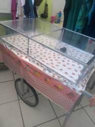 Vendo  carrinho de salgado
