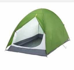 Barraca de camping + colchão (2 pessoas)