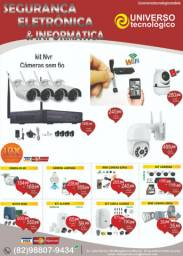 Segurança Eletrônica- cftv - alarme - cerca - interfone