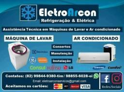 Ar Condicionado e Máquinas de Lavar Elétrica- Assistência técnica