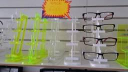 Expositores de óculos para balcão e vitrines