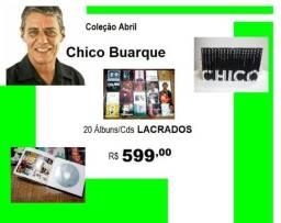 Coleção Chico Buarque de Holanda - ZERO - CDs + Albuns