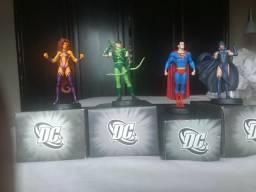 Miniaturas Eaglemoss heróis e vilões DC