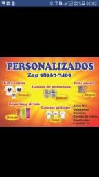 Personalizados em promoção