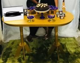 Vendo 1 mesa provençal dourada