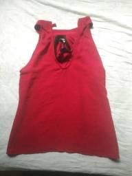 Blusas e bermudaa