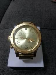 758b42a5e62 Relógio Nixon Gold original