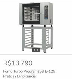 Forno Turbo programável E-125 - Dino Garcia 47-99218-4744