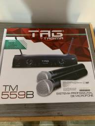 Microfone sem fio TAGIMA TM 559B