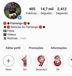 Página do flamengo