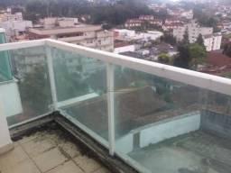 Apartamento com 1 dormitório à venda, 63 m² - Alto - Teresópolis/RJ