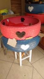 Camas de pneus para cães e Gatos
