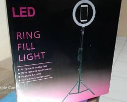 Ringh light 2 metros com tripé