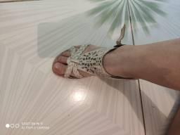 Sandálias preço de desapego