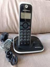 Telefone sem fio Motorola GATE4500 Usado mas em perfeito estado R$80,00!