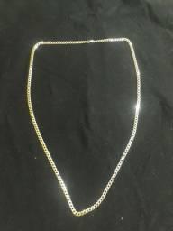 Cordão Grumet de Prata Italiana . 925