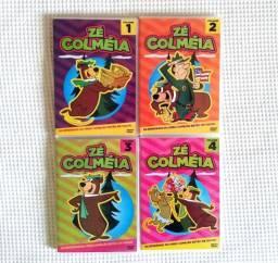 Coleção do Zé Colméia com 4 DVDs maravilhosos
