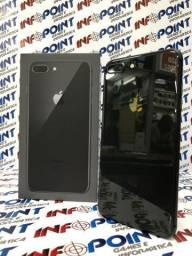 IPhone 8 plus 256GB Preto Apple - Seminovo - aceito seu iphone usado como entrada