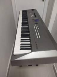 "Teclado, Piano Digital, Yamaha MM8 ""IMPECÁVEL"""