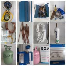 Equipamentos para instalação de ar condicionado em Navegantes parcelo em até 10x
