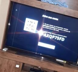 """TV lg 55"""" led uhd 4k modelo uk6360psf dtv/usb/wifi"""
