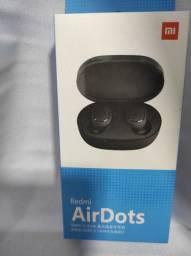 REDMI Air Dots da Xiaomi IMPERDÍVEL novo..
