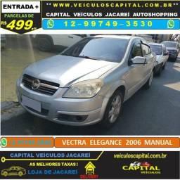 Vectra 2006 parcelas de 499 reais ao mês Elegance manual Prata