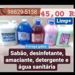 Produtos de limpeza em geral promoção em kits