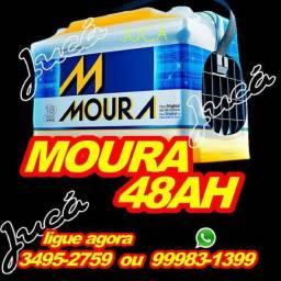 BATERIA AUTOMOTIVA MOURA 48 AH!! PREÇO SEM IGUAL