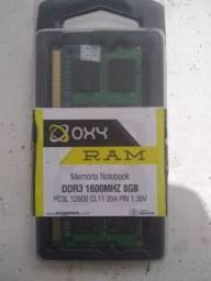 Memória notebook 8GB