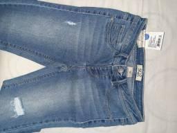 Calça jeans - 10 anos - 2 unidades