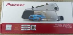 Retrovisor Câmera Automotiva Pioneer Dashcam Vrec-200ch