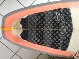Prancha e Deck da Mahalo com Quilhas FCS Originais (Oportunidade)