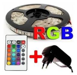 Fita led RGB 5050 menor preço do olx!!!