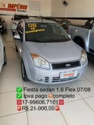 Fiesta sedan 1.6  07/08