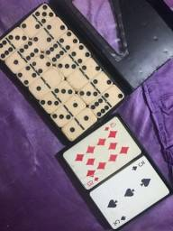 Domino e jogo de cartas, preço negociavel