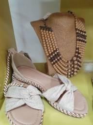 Sandália laços