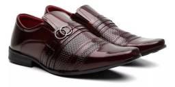 Sapato social Vinho 38 ao 42-Entrego
