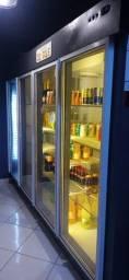 Expositor freezer 4 portas de vidro