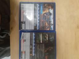 2 jogos para PS4
