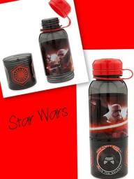 Garrafa com Copo Star Wars Disney Importada EUA Pronta Entrega