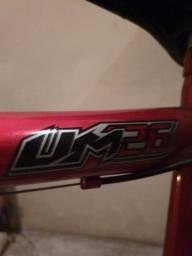 Bicicleta Vermelha Aro 26 18 Marchas