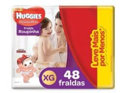 Fralda Huggies Supreme Care (roupinha) XG 48 unidades