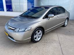 Honda Civic Lxs Automático , Banco de couro , Completo, muito conservado!