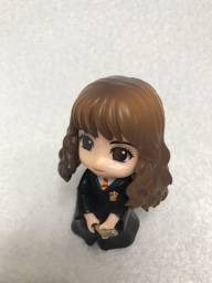 Action Figure Hermione Granger com Vassoura 10cm Harry Potter