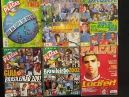 Coleção de Revistas Antigas Placar